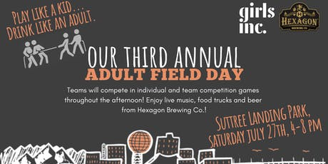 3rd Annual Adult Field Day!  tickets