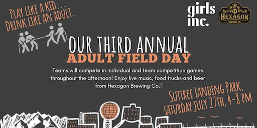 3rd Annual Adult Field Day!