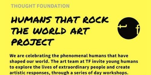 Humans that Rock the World Art Project