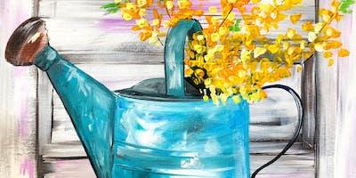 Brushes and Bruschetta-May Painting Class
