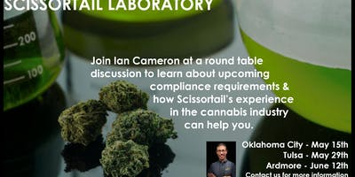 Tulsa - Cannabis Laboratory Round Table Discussion with Ian Cameron