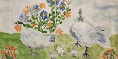 "Pour & Paint ""Chickens"""