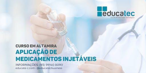 Curso de Aplicação de Medicamentos Injetáveis - T1