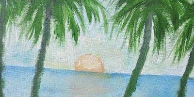 """Pour & Paint """"Summer"""""""