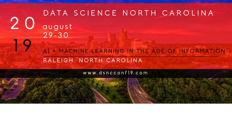 Data Science North Carolina Conference 2019 | #dsncconf19 tickets