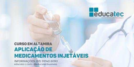 Curso de Aplicação de Medicamentos Injetáveis - T2