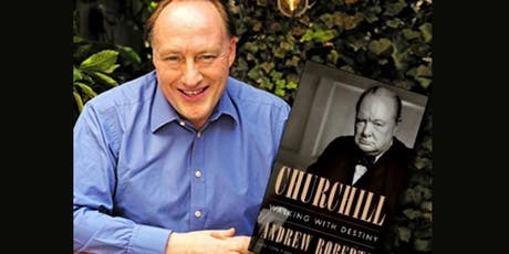 Author Talk with Andrew Roberts - Author of Churchill: Walking With Destiny  tickets