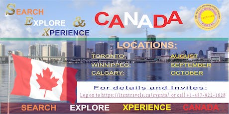 Explore and Experience Canada tickets