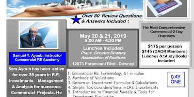A 2-Day Commercial Real Estate Boot-Camp - Commercial Real Estate Practice    (From Foundations to Syndications)
