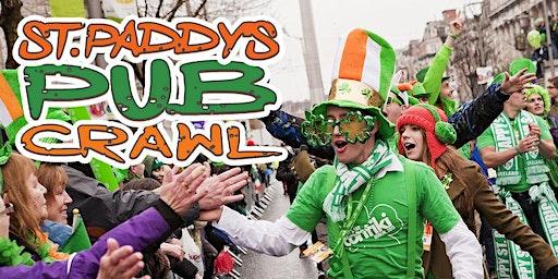 "Washington D.C. ""Luck of the Irish"" Pub Crawl St Paddy's Weekend 2020"