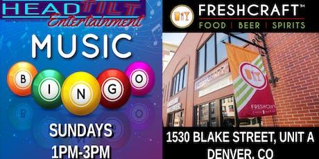 Music Bingo at Freshcraft - Denver, CO tickets