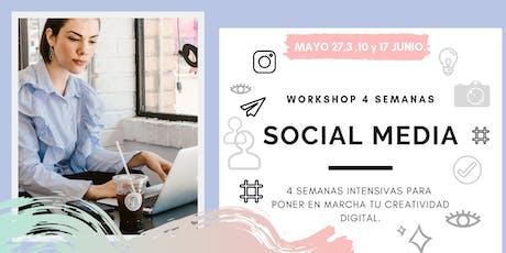 Curso Social Media en Tijuana entradas
