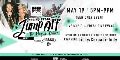 Spring Break Jump Off feat. Ceraadi Live