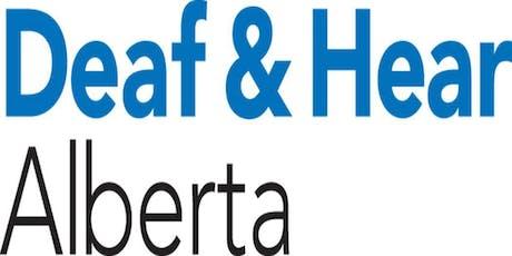 Deaf & Hear Alberta Annual General Meeting tickets