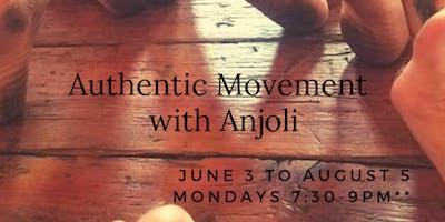 Authentic Movement with Anjoli