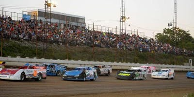 Red Miley Rumble featuring the RUSH Late Model Dirt Series