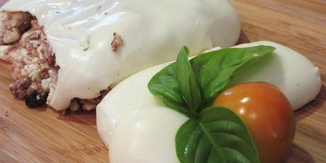 MOZZARELLA & BURRATA Cheese Making Class - 2 Cheeses in 2 hours tickets