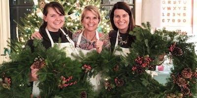 Festive & Fresh Evergreen Wreath Workshop