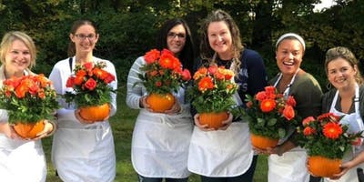 The Great Pumpkin Celebration (Floral Arranging Wo
