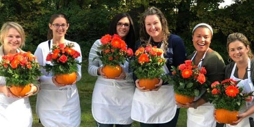 The Great Pumpkin Celebration (Floral Arranging Workshop)