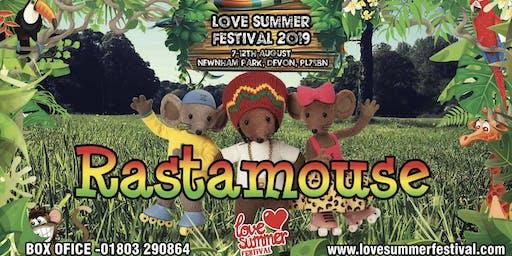 Rastamouse at Love Summer Festival 2019