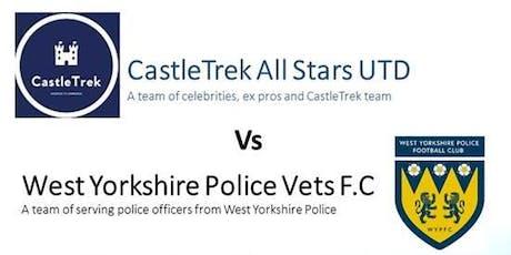 CastleTrek All Stars UTD v West Yorkshire Police Vets F.C tickets