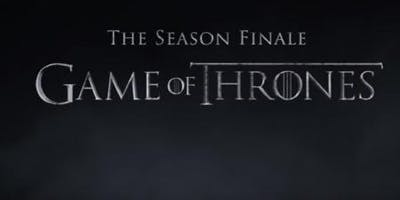 """""""Game of Thrones"""" Season Finale SILENT Watch Party and After Party"""