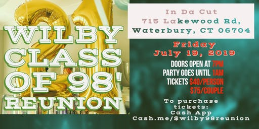Wilby High School Class of 98' Reunion