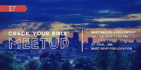 #CrackYourBible Fam Meetup - St.Paul, Minnesota (Paid Event) tickets