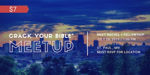 #CrackYourBible Fam Meetup - St.Paul, Minnesota (Paid Event)