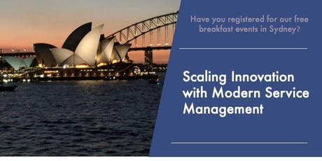Scaling Innovation with Modern Service Management tickets