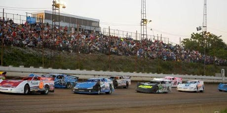 Jook George Steel City Classic for the RUSH Late Model Touring Series, plus more tickets