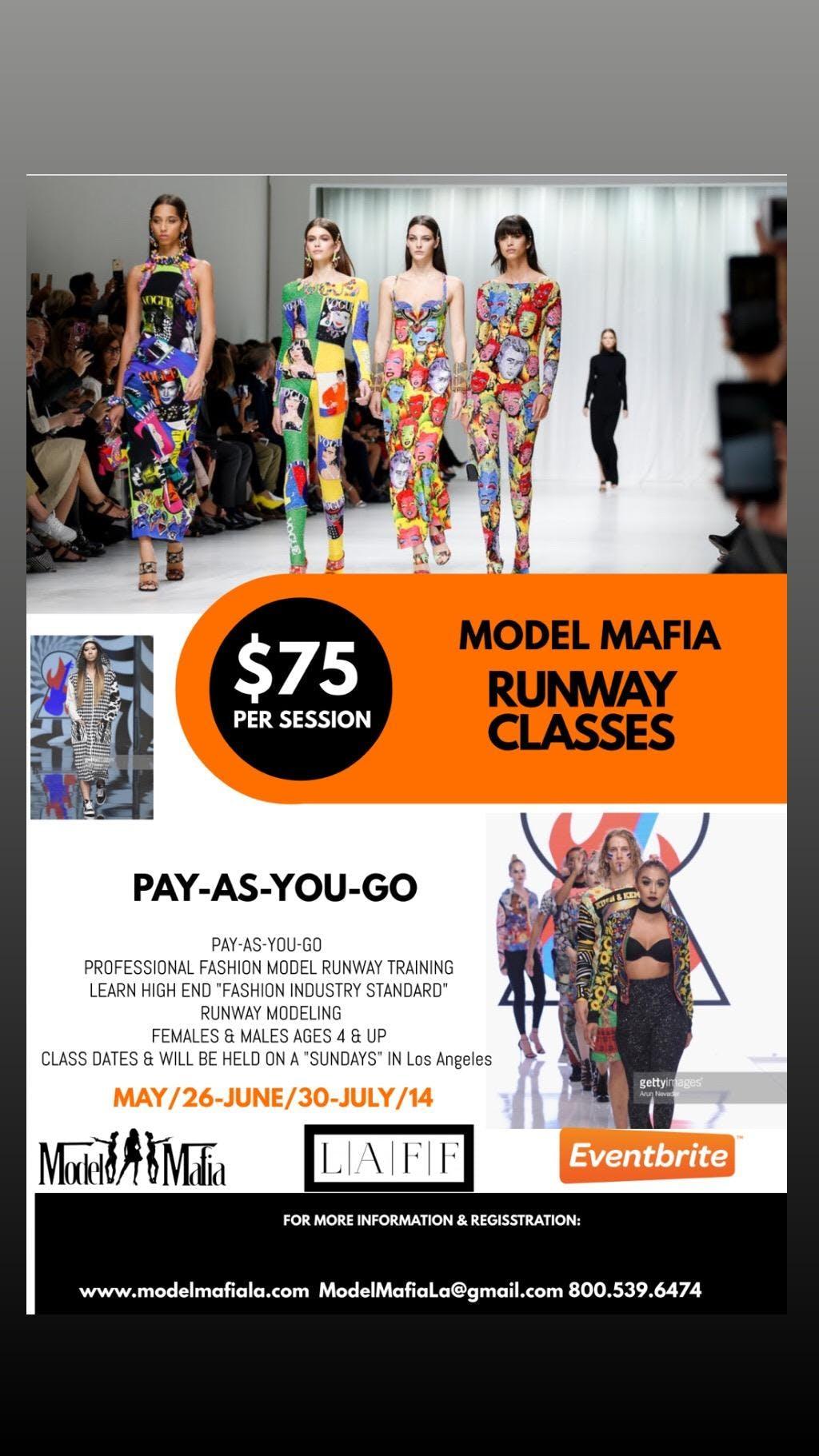 LA FASHION WEEK OPEN CALL & Model Runway Classes
