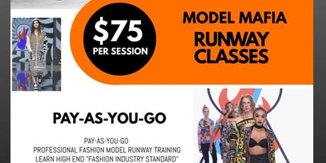 Model Runway and Pose Classes tickets