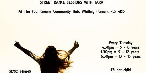 Street Dancing Sessions With Tara