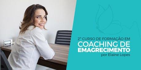 SÃO PAULO: Método Viva Leve - Formação em Coaching de Emagrecimento ingressos