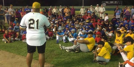 2019 LULAC Baseball Clinic - Learn to Play the Clemente Way! Free of Charge!