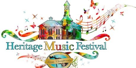 Heritage Music Festival - Weekend Pass tickets