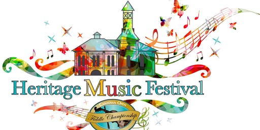 Heritage Music Festival - Weekend Pass