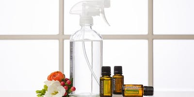 Go Green! Essential Oils Non-Toxic Cleaning Workshop