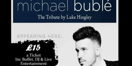 Michael Buble Tribute tickets