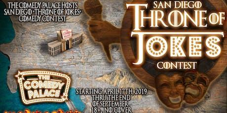 SD Throne of Jokes Contest #8: 6/19/19 tickets