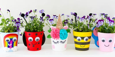 Spring Planting and Pot Decorating Workshop