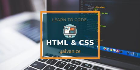 Learn to Code: HTML & CSS  tickets