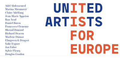 United Artists for Europe: Artists come together to support a Europe of culture