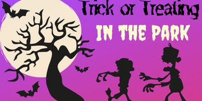 Trick or Treating in the Park