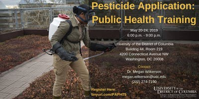 UDC CAUSES Pesticide Application: Public Health Training