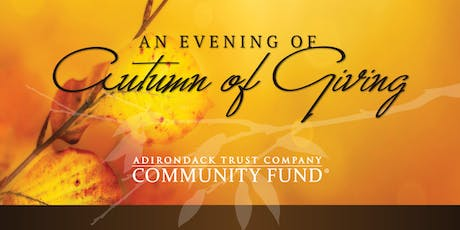 2019 ATC Community Fund - An Evening of Autumn Giving tickets
