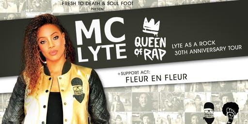 MC LYTE / Lyte as a Rock 30th Anniversary Tour / München