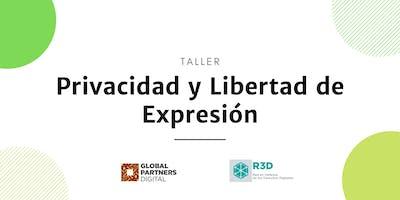 Taller de Privacidad y Libertad de Expresión para OSC